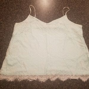 Maurices mint green lace halter. Sz 2 plus